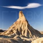 Castildetierra nube azul